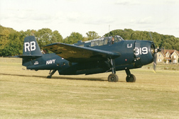 General Motors TBM-3R Avenger 3381 HB-RDG/53319/RB-319 - US Navy at Old Warden Air Show 2003