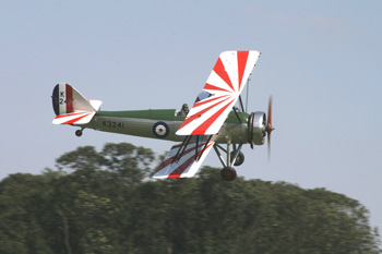 Avro Type 621 Tutor G-AHSA K3241 at Old Warden August Air Show 2007