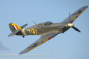 Hawker Sea Hurricane Mk IB G-BKTH Z7015 at Old Warden Sunset Air Display 2010
