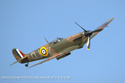 Supermarine Spitfire Mk IIA G-AWIJ P7350 at Old Warden Sunset Air Display 2010
