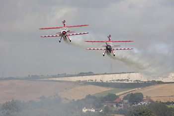 Team Guinot at Shoreham Air Show 2009