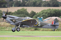 Supermarine Spitfire Mk XVI G-OXVI TD248 (CR-S) at Shoreham Air Show 2010