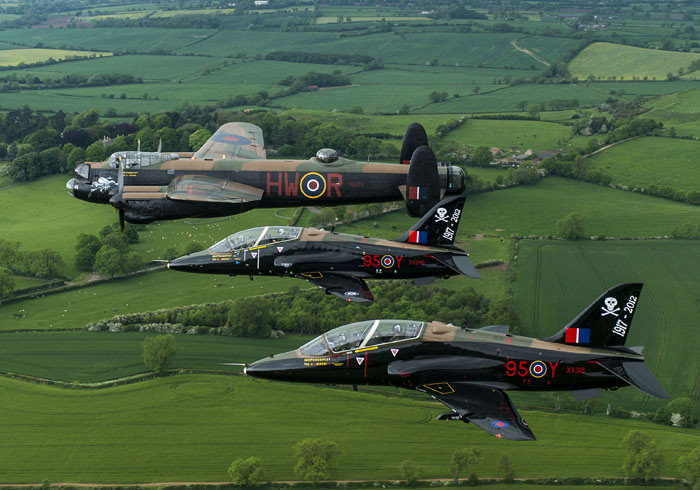 No. 100 Squadron 95th anniversary celebrations