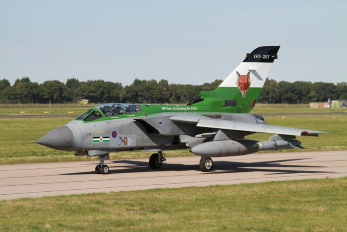 12 Squadrons 100th anniversary Tornado - 10th September 2015