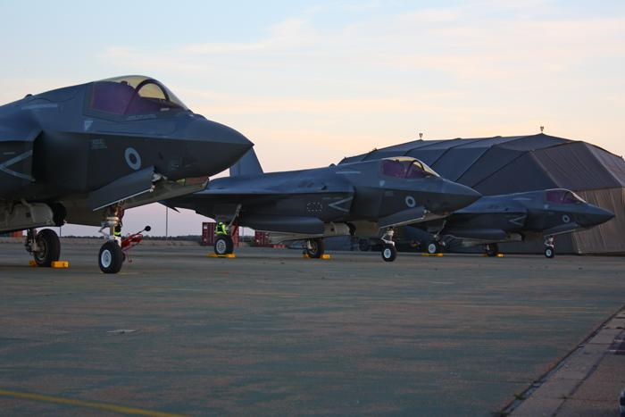 F-35 Lightning at RAF Marham