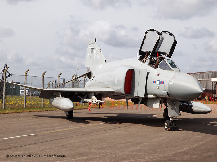Phantom FGR2 XV497 at RAF Bentwaters