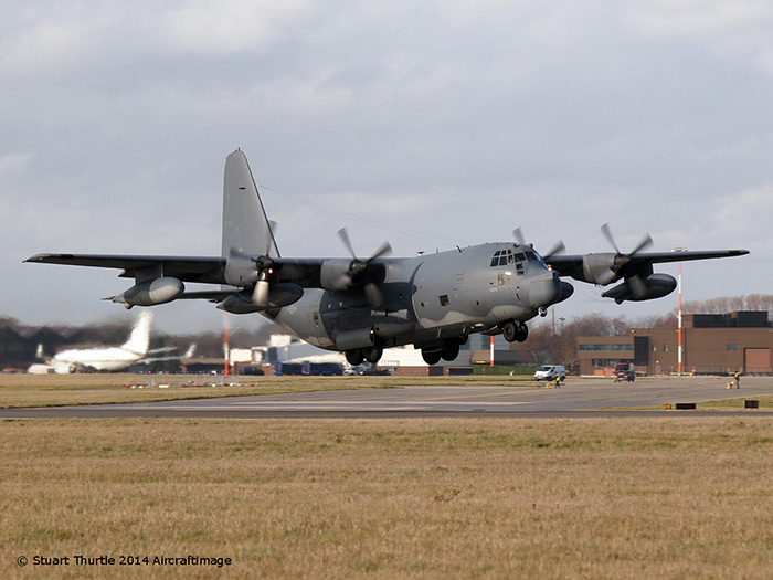 The last MC-130P Combat Shadow leaves RAF Mildenhall
