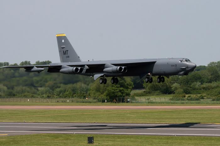 USSTRATCOM deployment to RAF Fairford