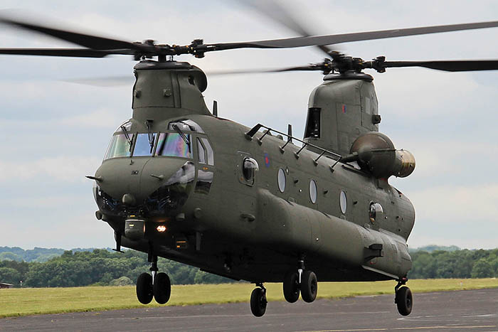 Chinook HC6 unveiled