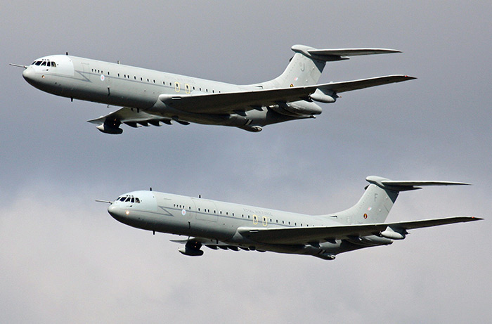 VC10s ZA147 and ZA150 last operational flights