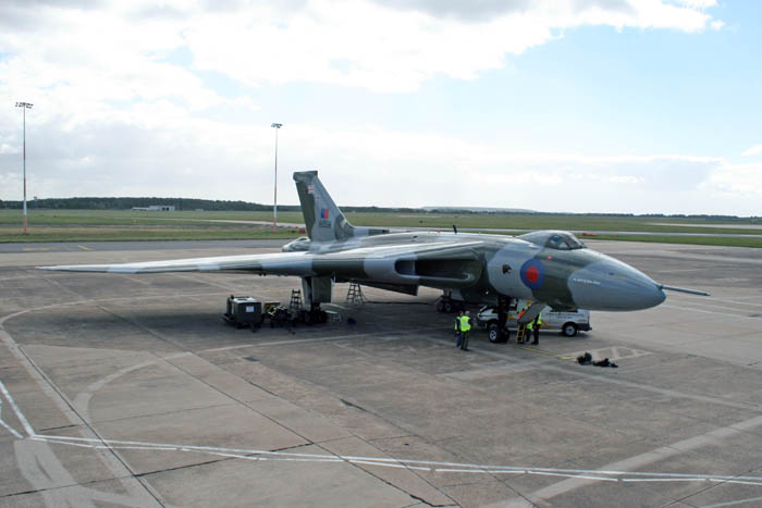 Vulcan XH558 last flight of the season