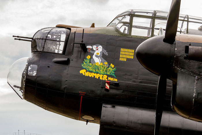 Lancaster PA474 new nose art - Thumper
