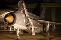 English Electric Lightning at the Bruntingthorpe Twilight Run 2009