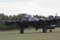 Avro Lancaster Mk VII NX611 Just Jane taxiing back in at the East Kirkby RAFBF Air Show 2010
