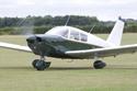 Piper PA-28-235 Cherokee B G-BXYM at the East Kirkby RAFBF Air Show 2010