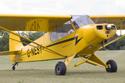 Piper PA-18-95 Super Cub G-NESY - previously N124SA at the East Kirkby RAFBF Air Show 2010