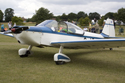 Piel CP-301B Emeraude G-AZGY (originally F-BRAA) at the East Kirkby RAFBF Air Show 2010