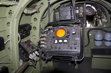 Inside Avro Lancaster Just Jane