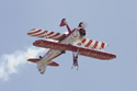 Team Guinot wing walker at Waddington Air Show 2009