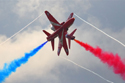 The Red Arrows at Fairford Royal International Air Tattoo 2009