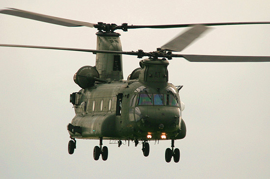 Boeing-Vertol Chinook at Duxford Spring Air Show 2008
