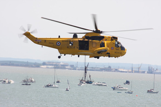 Westland WS-61 Sea King HAR3A ZH543/X