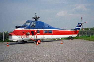 Wessex 60 G-ATBZ (WA.461) International Helicopter Museum 1989