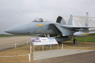 McDonnell Douglas F-15A Eagle outside Duxford American Air Museum