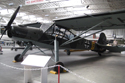 Fieseler Fi 156 Storch CF+HF/EI-AUY at Duxford Hangar 5 - The Working Museum