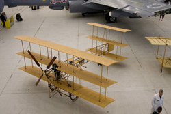 Manchester Museum of Science and Industry Avro Triplane replica G-CFTF