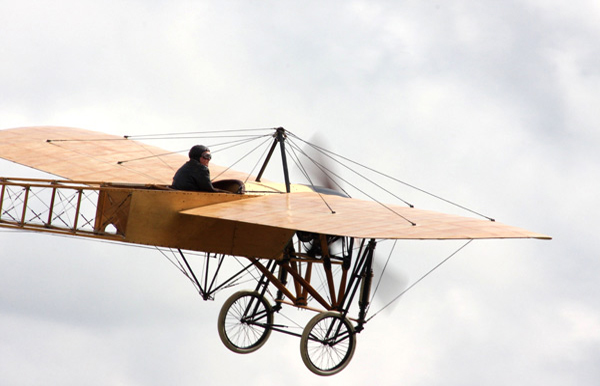 Bleriot XI EAA-1184-SE SE-AMZ, license-built in Sweden as Thulin A