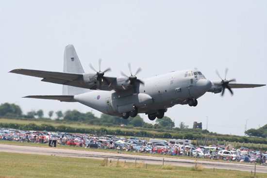 Lockheed C-130 Hercules at Royal Air Force Waddington Air Show 2006
