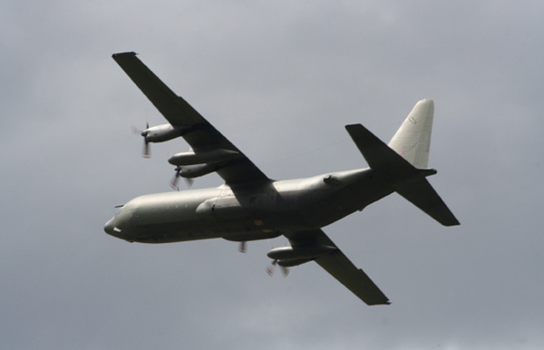 Lockheed C-130 Hercules at RAF Cottesmore Families Day 2009