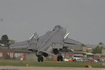 No. 6 Squadron Jaguars at Coningsby