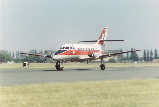 Handley Page HP.137 Jetstream at RAF Finningley