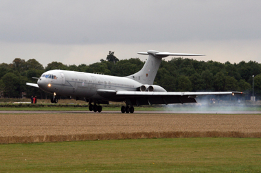 Vickers VC10 XV105 delivery at Bruntingthorpe Airfield