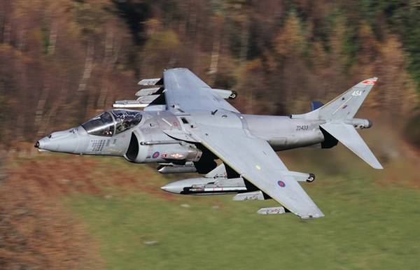 British Aerospace Harrier GR9A ZD433/45A (cn P45)