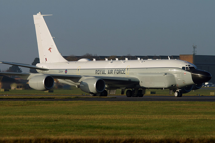 Boeing RC-135W Rivet Joint ZZ664, 51 Squadron RAF Waddington