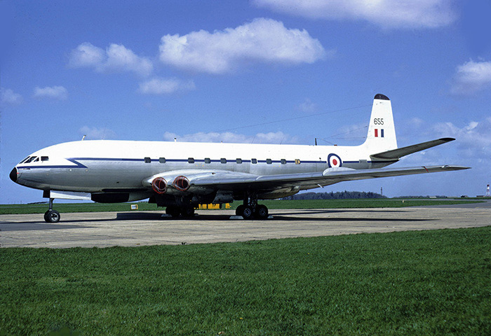 de Havilland Comet C.2R XK655 RAF 51 Sqn, 29th April 1970