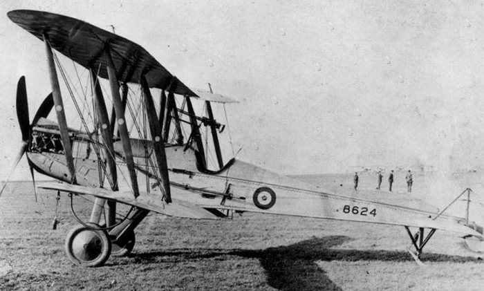 Royal Aircraft Factory BE2c 8624