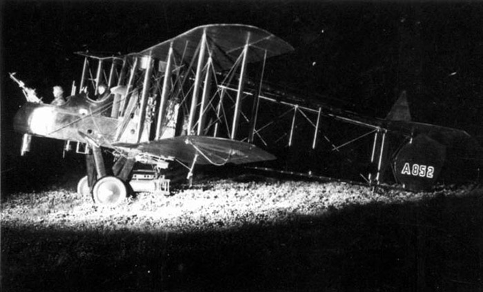 Royal Aircraft Factory FE2b A852
