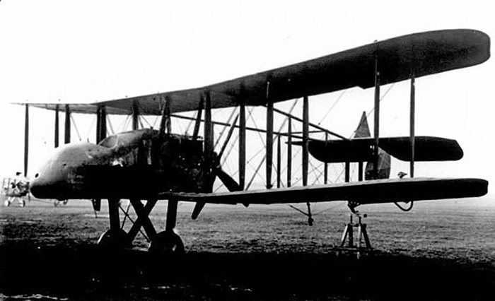 Royal Aircraft Factory FE2b A5549 converted to Single-seater