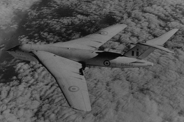 Victor B1 XH649 later served as a K1 with 57 Squadron