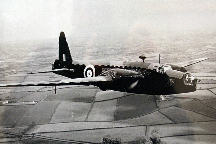 Wellington BII W5379, a similar aircraft to the ones used by 57 Squadron