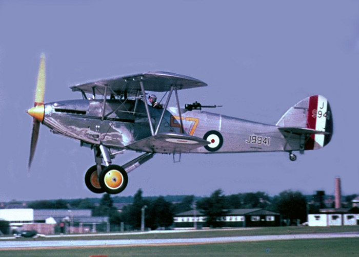 Hawker Hart J9941 G-ABMR Farnborough, September 1966