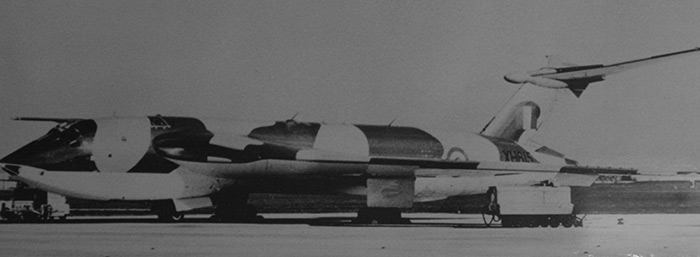 Victor B1 XH615 served briefly with 57 Squadron in 1964