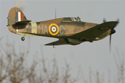 Hawker Hurricane Mk XII G-HURI Z5140 at the Closing day at RAF Coltishall 2006