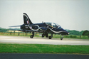 British Aerospace Hawk T1A 163/312145 XX320 carrying RAF Valley 60th anniversary markings at RIAT 2001 at RAF Cottesmore