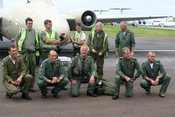 Canberra crews at Kemble