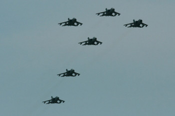 XIII squadron six-ship final flypast
